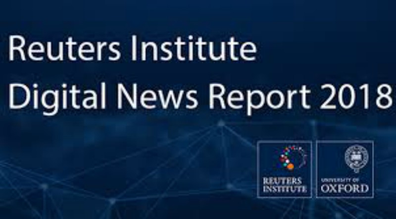 Digital News Report 2018 cover