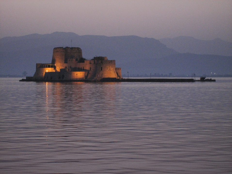 2007 Greece Nafplion Bourtsi fortress 01