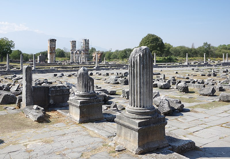 800px Archaeological site of Philippi BW 2017 10 05 12 40 34