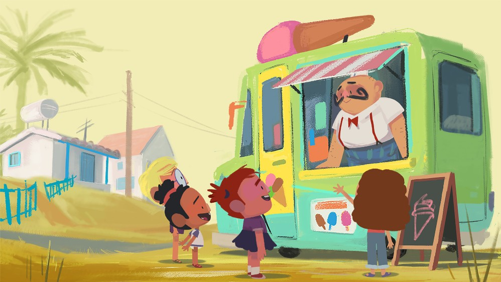 23.THE ICE CREAM MAN