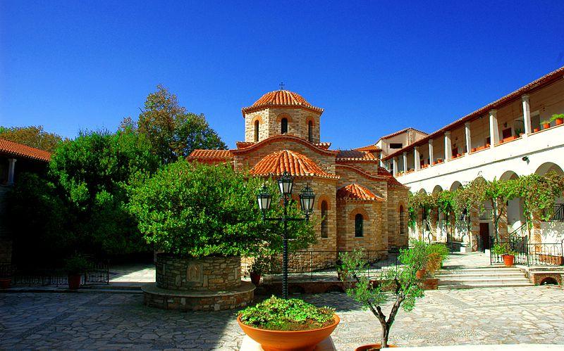 Penteli Monastery Athens Greece panoramio